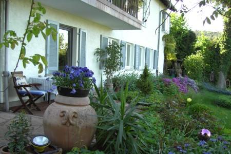 Ferienwohnung in Wertheim - Garten